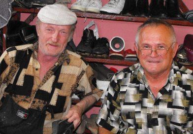 Легендарні мукачівські шустри  Іван Лавкай та Іван Боднар