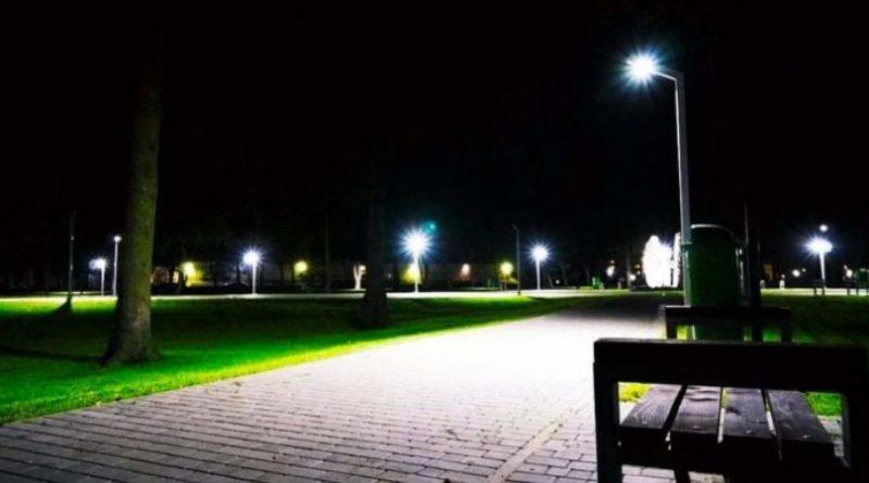 У Мукачеві з'явилися три нові сквери з ігровими комплексами та велодоріжками