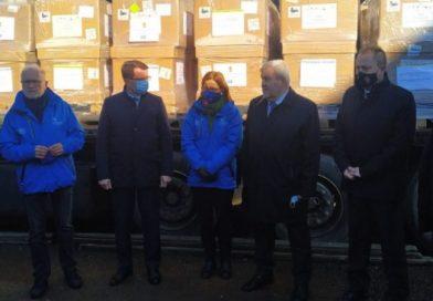 Угорщина доправила на Закарпаття 50 апаратів ШВЛ