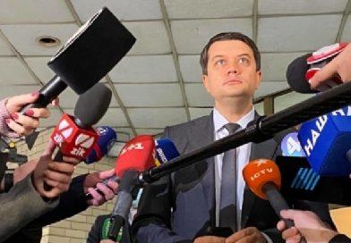 Володимир Разумков про зміни закону про санкції