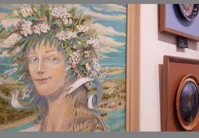 """""""Україно-квіткова краса"""": у Мукачеві відкрили творчу виставку до 30-річчя Незалежності"""