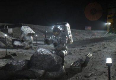 Гігантська ракета NASA для польоту на Місяць (фото)