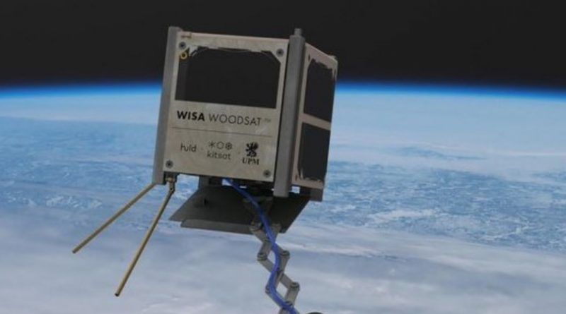 Готується до запуску перший в світі дерев'яний супутник