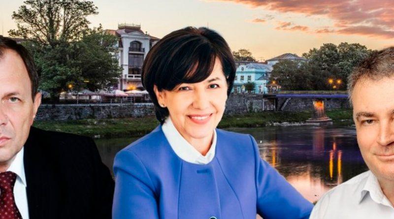 """Ексміський голова, ректор УжНУ та директорка швейної фабрики стали """"Почесними громадянами міста"""""""