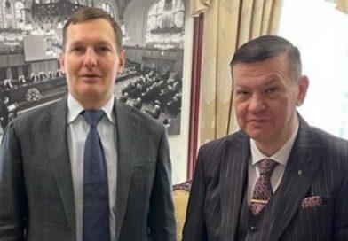 Відбулася зустріч голови Ради адвокатів Закарпатської області Олексія Фазекоша з першим заступником Міністра МВС України Євгеном Єніним