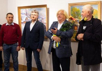 До 70 річного  ювілею Василя Свалявчика в Ужгороді відкрито виставку художника його робіт